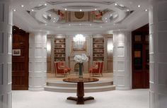 Boiserie Su Misura Roma.10 Fantastiche Immagini Su Librerie Su Misura Bespoke Furniture