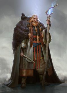 Torbjørn Jotunhorn by Even Mehl Amundsen | Portrait | 2D | CGSociety