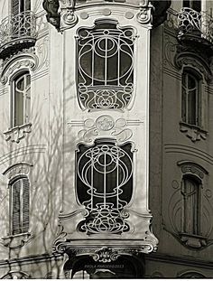 Fenoglio-Lafleur House (I) - post by Paola Parodi 1902 - Pietro Fenoglio Turin, Via Principi D'Acaja 11