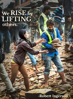 We can all do our part to lift those in Nepal.