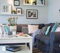 Salon w stylu skandynawskim - zdjęcie od Kwadraton Living room   Scandinavian design   home inspiration   design   decoration   home