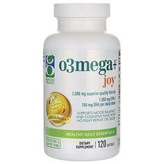 Genuine Health - Omega3+ Joy - 120 Softgels: Amazon.ca: Health & Personal Care