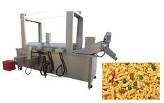Continuous Namkeen Fryer Machine Email:ellie@machinehall.com Skype:leo.liufan