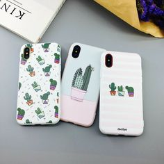 Cactus Cartoon Phone case for Iphone - Blue Iphone 8 Case - Ideas of Blue Iphone 8 Case. - Cactus Cartoon Phone case for Iphone Compatible iPhone Model: iPhone 6 iPhone 6 Plus iPhone iPhone plus iPhone 7 iPhone 7 Plus iPhone 8 Plus iPhone 8 iPhone X Capas Iphone 6, Capas Samsung, Diy Iphone Case, Iphone Phone Cases, Cool Iphone Cases, Cell Phone Covers, Iphone Case Covers, Iphone 8 Plus, Cute Cases