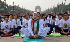PM Narendra Modi Led: International Yoga Day 2016