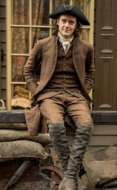 New photo of César Domboy as Fergus Fraser ❤️❤️ - Outlander_Starz Season 4 Drums of Autumn - posted up on July 2018