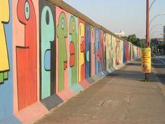 East Side Gallery - longest stretch of Berlin wall still intact