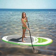 Inflatable Kayak Motor The Tonga Stand-Up Paddleboard from Family Leisure is perfect for the water! - Tonga Stand Up Paddleboard by Solstice The Tonga Paddleboard by Solstice is one of their most advanced boards, with a cool diamond plate tract pad for Inflatable Paddle Board, Inflatable Kayak, Sup Girl, Family Leisure, Sup Stand Up Paddle, Paddle Boat, Sup Yoga, Standup Paddle Board, Thing 1