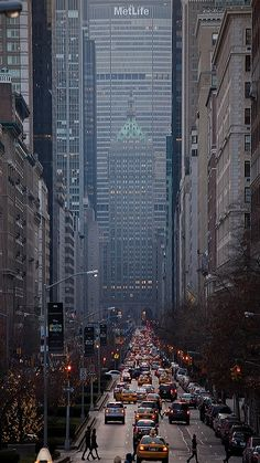 Park Avenue Looking South, NYC