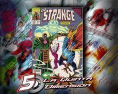 DR. STRANGE # 33 TIE-IN DE INFINITY GAUNTLET. APARECE THANOS. $ 60.00 Para más información, contáctanos en http://www.facebook.com/la5aDimension