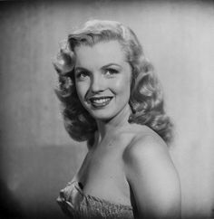 Not published in LIFE. Marilyn Monroe at age 22, Hollywood, 1949.
