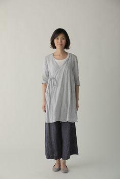 Luera Coat: White Plaid – Shop Fog Linen