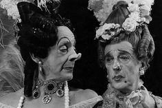 Robert Helpmann and Frederick Ashton as the Stepsisters in Cinderella by Royal Opera House Covent Garden, via Flickr