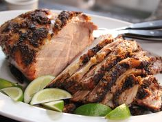 Slow-Roasted Spiced Pork recipe from Ina Garten via Food Network