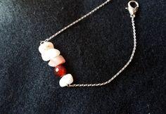 Stepping stone bracelet https://www.etsy.com/listing/483415559/stepping-stones-bracelet-gemstone