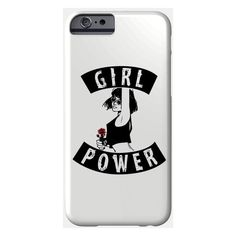 Girl Phone Case (81 PEN) ❤ liked on Polyvore featuring accessories and tech accessories