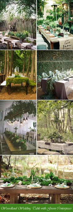 Wedding Ideas: 40 Stunning Woodland & Forest Wedding Reception Id...