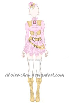 [OPEN] Romantic Leather Armour Adoptable by Aloise-chan.deviantart.com on @DeviantArt