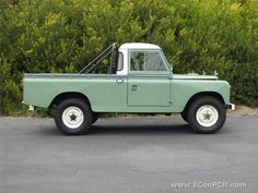 Land Rover 109 Serie II A Pickup.