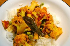 This healthy and flavorful spiced cauliflower is an excellent vegetarian main course or a delicious side dish.