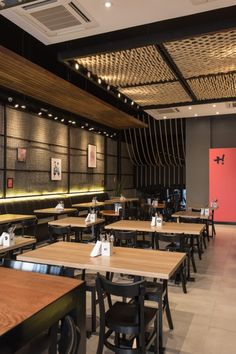 Bistro by Syndrome - Meat Restaurant - Interior Bistro, Restaurant Interior Design, Bistro Design, Bar Design, Meat Restaurant, Restaurant Concept, Japanese Restaurant Interior, Cozy Cafe, Cuisines Design