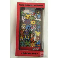Pokemon Center 2015 Pokemon Petit Campaign Sylveon Gengar Gardevoir Drifloon & Friends iPhone 6 Mobile Phone Soft Cover