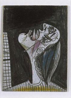 Cabeza llorando (VII). Postscripto de «Guernica»