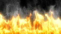 108 Dynamic gold raging fire photography&video background video material for video producer