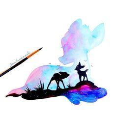 #Disney #Bambi #Art