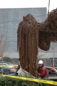 art installation sculpture - chains - Google Search Art Installation, Chains, Communication, Sculptures, Clay, Google Search, Projects, Fashion, Art