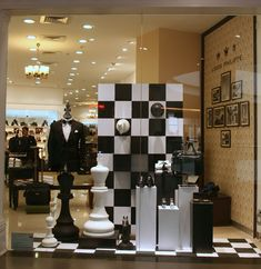 Gods & Kings by Louis Philippe Window Display October 2013, Bangalore – India