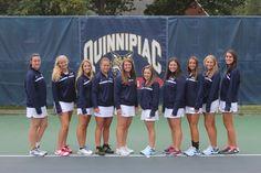 Quinnipiac Women's Tennis Team Photos - September 2013