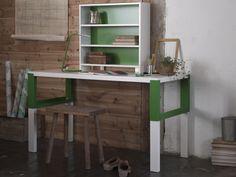PÅHL bureau met open kastje   #nieuw #IKEA #IKEAnl #inspiratie #bureau #verstelbaar #meegroeien #werkplek