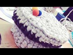 Así fue el taller de ganchillo con trapillo en www.galeriapurpura.com