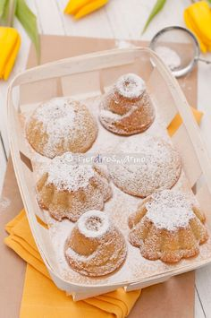 Fiordirosmarino: Tortine di mele alla panna
