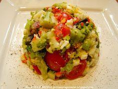 PotrawyRegionalne: SAŁATKA BROKUŁOWA Z RYŻEM Avocado Toast, Guacamole, Mexican, Breakfast, Ethnic Recipes, Food, Morning Coffee, Essen, Meals