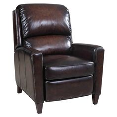 Have to have it. Hooker Furniture Valor Recliner - Chocolate - $1376 @hayneedle