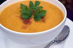 Easy Ginger Pumpkin Soup | 5DollarDinners.com