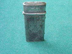 Zilveren set antieke bloedlaters - Zeldzaam !