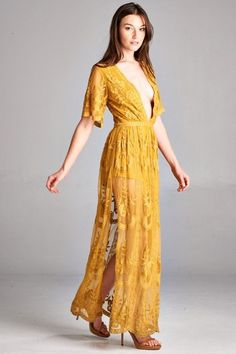 Maxi dress overlay romper vintage