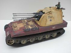 TRACK-LINK / Gallery / Geschuetzwagen VI 3,7cm Quad Anti Aaircraft Turret
