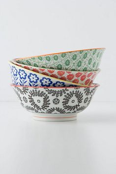Serving bowls from Anthropologie {4} {Multi-color} $24