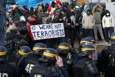 Proteste gegen die Räumung: Helfer und Bewohner hatten sich seit Wochen gegen...