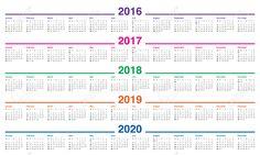Resultado de imagen para almanaque 2017
