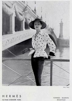 Hermès Couture 1950