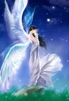 please stay near. Take the pain. Take the fear. Angel Pictures, Jesus Pictures, Anime Angel Girl, Angel Artwork, Angel Warrior, I Believe In Angels, Ange Demon, Beautiful Fantasy Art, Fantasy Paintings