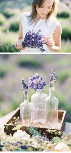 #Deko mit #Lavendel beim #Lavendelshooting