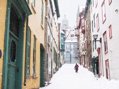 Photographic evidence as to why one must witness Quebec City in winter at least once in one's lifetime + helpful tips for planning a memorable trip. Quebec Montreal, Quebec City, Quebec Winter, Canadian Travel, Canada, Life Is Good, How To Memorize Things, Europe, Architecture