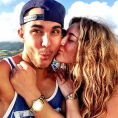 Alexa Vega and Carlos Pena... they're to cute :)