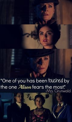 PLL THEORY - She could be referring to Jason as him and Aria kissed and she thought he was A not realising it's actually Jason's twin that Ali fears the most? Preety Little Liars, Pretty Little Liars Quotes, Best Tv Shows, Best Shows Ever, Favorite Tv Shows, Abc Family, Family Show, Tv Show Quotes, Pll Quotes